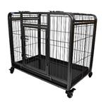 DELUXE PET CRATE ON WHEELS LARGE thumbnail