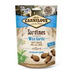 CARNILOVE SARDINES & WILD GARLIC SEMI-MOIST DOG TREATS 200G thumbnail