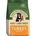 JAMES WELLBELOVED TURKEY & RICE LARGE BREED ADULT DOG FOOD 15KG thumbnail