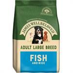 JAMES WELLBELOVED FISH & RICE LARGE BREED ADULT 15KG  thumbnail