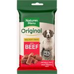 NATURES MENU MINI DOG TREATS WITH BEEF 60G thumbnail