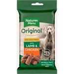 NATURES MENU MINI  DOG TREATS WITH LAMB AND CHICKEN 60G thumbnail
