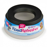 ROAD REFRESHER NON-SPILL PET BOWL LARGE GREY thumbnail