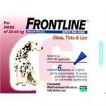 FRONTLINE SPOT ON 2.68ML LARGE DOG 6 PACK (20-40kg) thumbnail