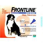 FRONTLINE SPOT ON 4.02ML X LGE DOG 3 PACK (40-60kg) thumbnail