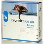 DRONCIT SPOT ON WORMING DROPS FOR CATS 4X0.5ML thumbnail