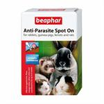 BEAPHAR ANTI PARASITE SPOT ON RABBIT & GUINEA PIG - 4 x Pipettes thumbnail