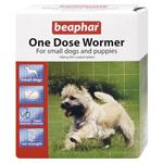 BEAPHAR ONE DOSE WORMER FOR SMALL DOGS - 3 TABLETS thumbnail