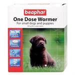 BEAPHAR ONE DOSE WORMER FOR PUPPIES AND SMALL DOGS - 6 TABLETS thumbnail