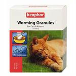 BEAPHAR WORMING GRANULES FOR CATS 4*1G thumbnail