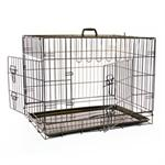 MIKKI TWO DOOR DOG CRATE SMALL 76*54*61cm thumbnail