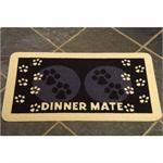 MINI DINNER MATE FOOD MAT BLACK thumbnail